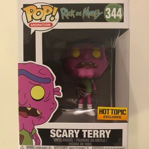 Funko Pop-Rick & Morty-Scary Terry-#344